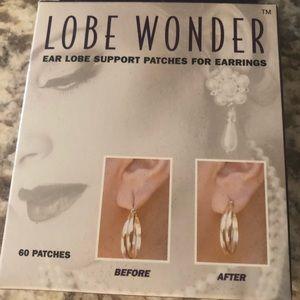Lobe Wonder Ear Lobe Support Patches for Earrings
